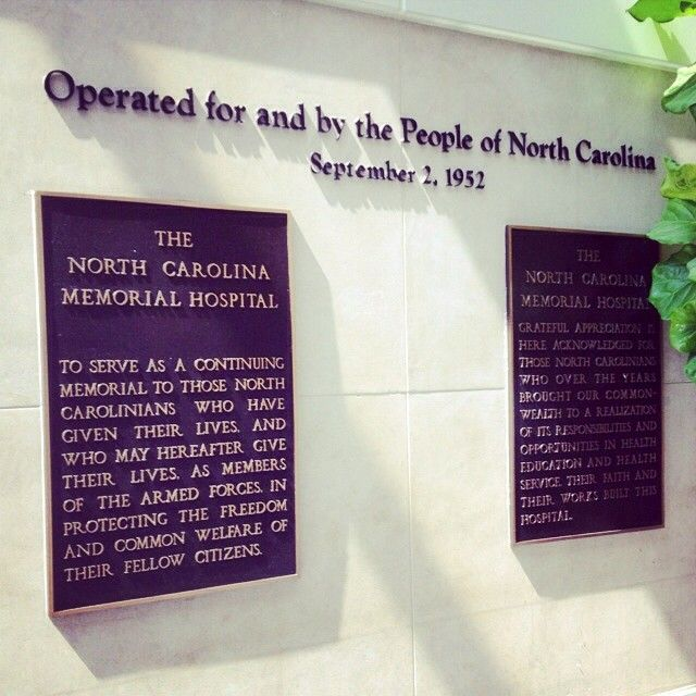 N.C. Memorial Hospital opened in September 1952. Many areas of the state wanted the hospital, but Chapel Hill ultimately won (per usual). #MedicalMonday