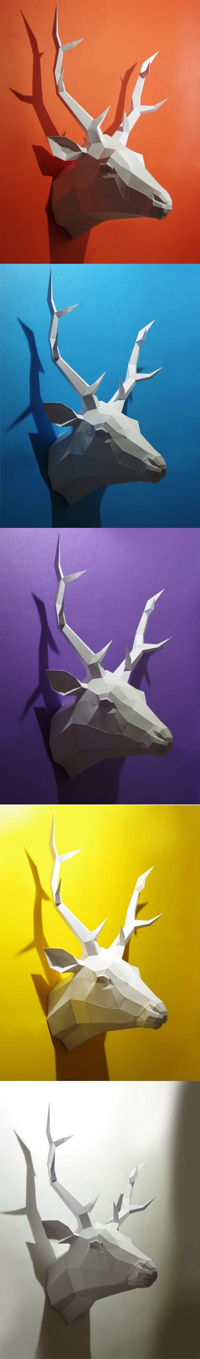 White Stag, couldn't decide on which background he looks best :-)