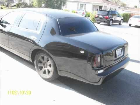 1998 to 2006 Lincoln town car bodykit.wmv