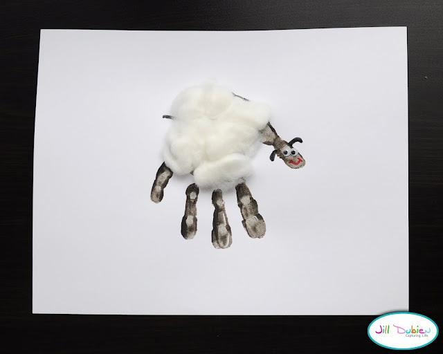 Handprint Lamb...soooo cute!