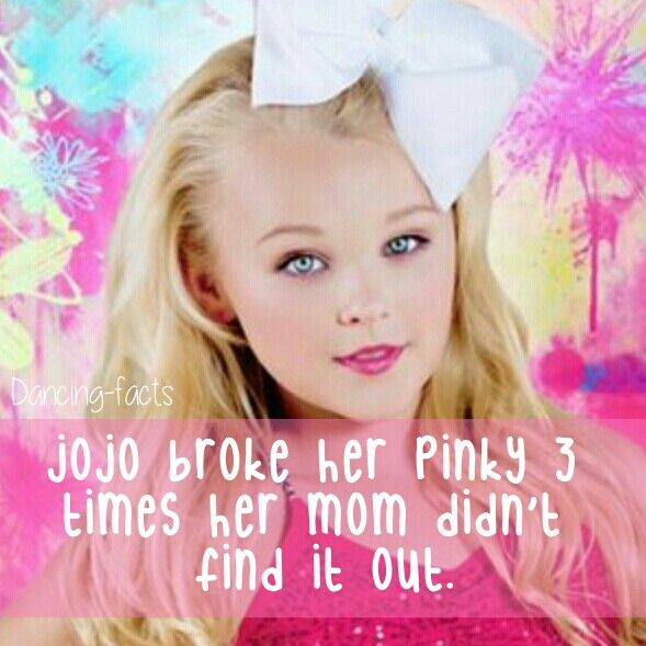 28 best JoJo Siwa facts images on Pinterest | Dance moms ...