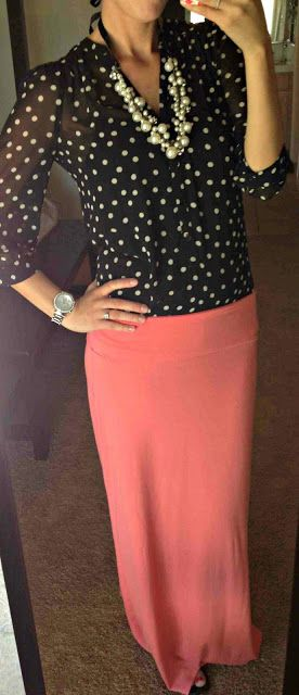 all things katie marie: adorable maxi skirt outfit