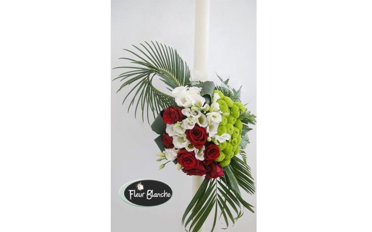 Fête de l'amour - sarbatoreste dragostea cu aceasta superba lumanare  http://www.florariafleurblanche.ro/produs/lumanare-de-nunta-fte-de-lamour