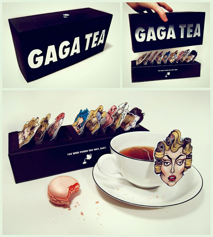 Student Spotlight: Gaga Tea      Gaga inspired design project by an aspiring graphic design student.