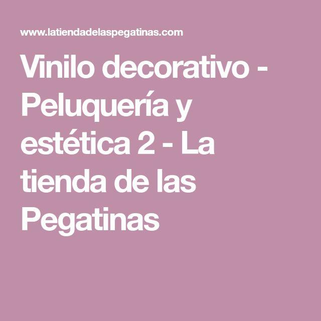 Vinilo decorativo - Peluquería y estética 2 - La tienda de las Pegatinas