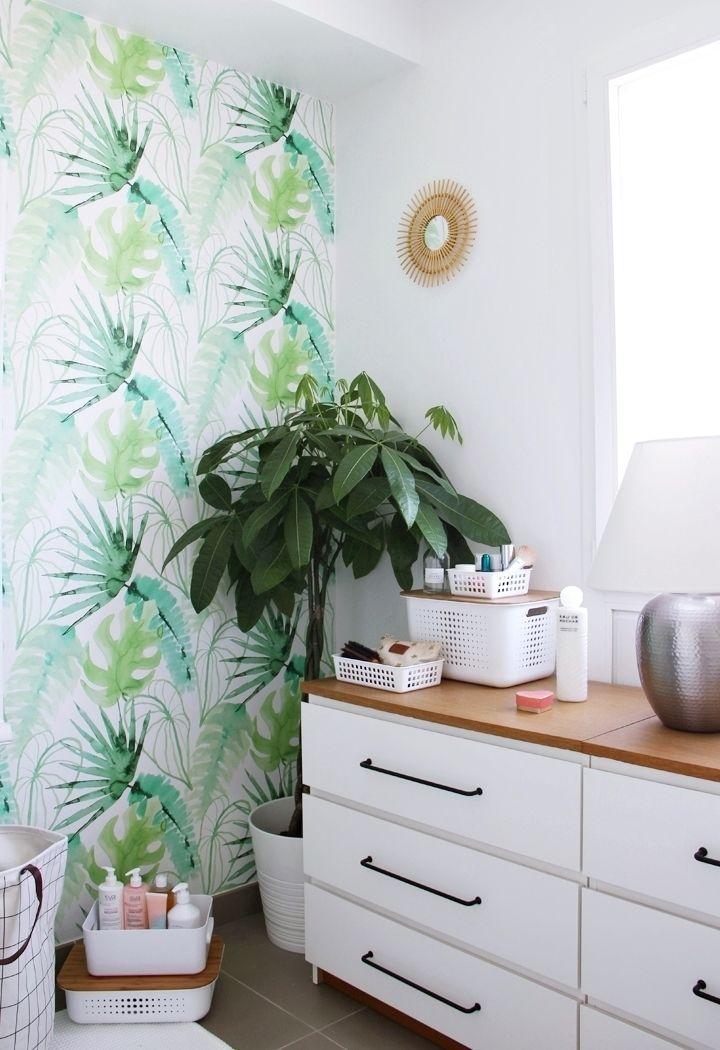 les 25 meilleures id es de la cat gorie salle de bain tropicale sur pinterest salle de bain. Black Bedroom Furniture Sets. Home Design Ideas
