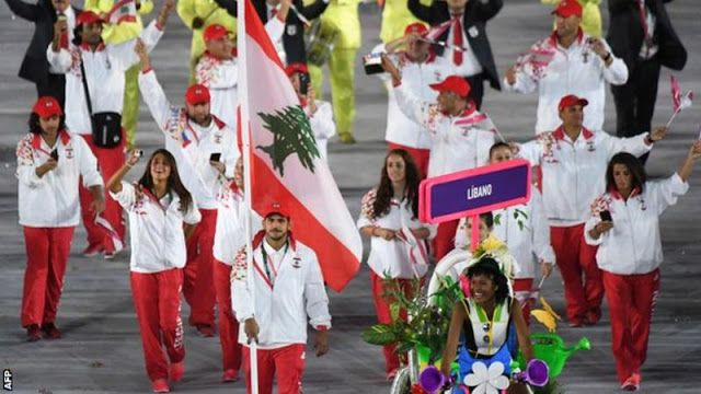 Lebanon's Olympic team