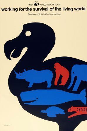 1980's Tom Eckersley poster
