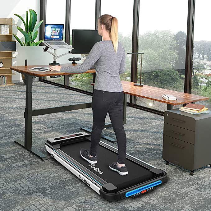 Redliro Under Desk Treadmill 2 In 1 Walking In 2020 Workout Machines Treadmill Reviews Treadmill