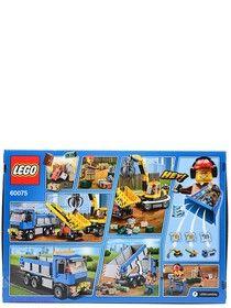 Игрушка Город Экскаватор и грузовик,номер модели 60075, Lego на маркете Vse42.ru.