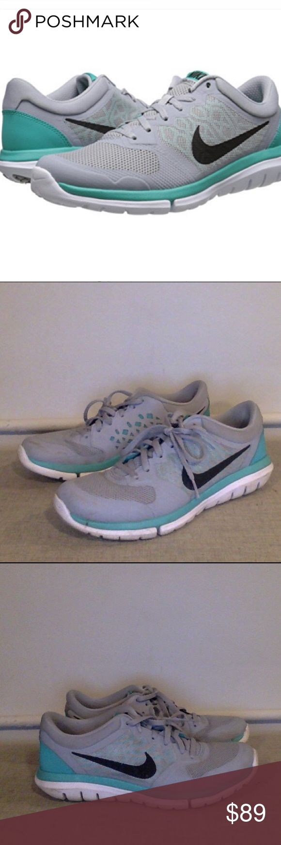 Nike Flex 7.5 Womens Running Shoes Grey Nike Flex 2015 Rn Sz 7.5 Womens Running Shoes Grey. Lightly used. Will send with extra sole support. Nike Shoes Athletic Shoes