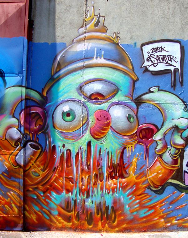 graffiti by Nestor David Marinero Cervano, via Behance