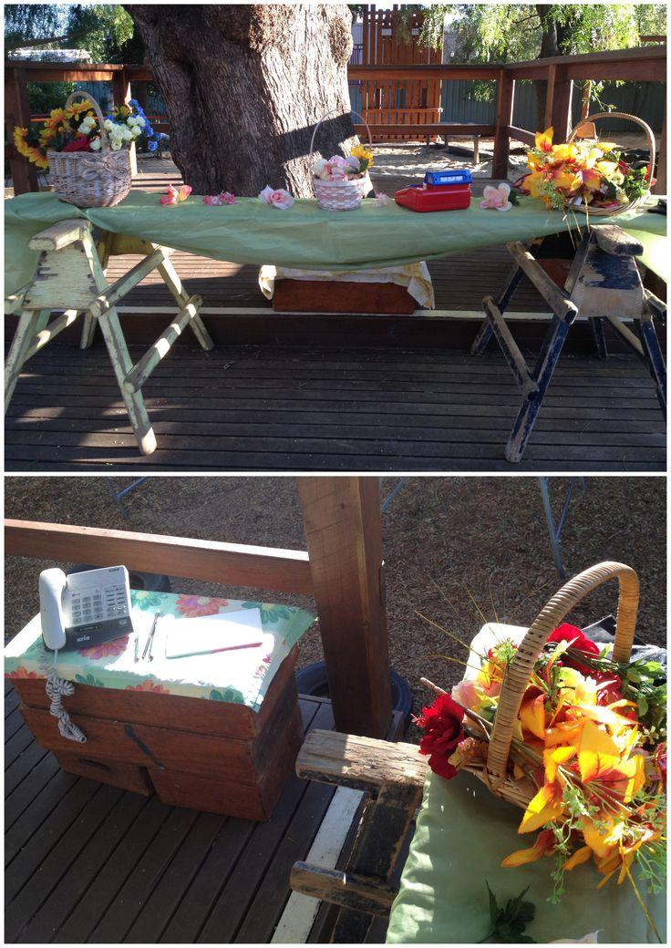 The flower shop @ Castlemaine Kinder