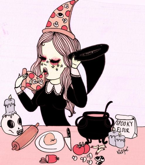 Attention! To all our witchy babes that love the halloween season! The Valfre Team will be posting every week for the rest of October some fun/spooky things to