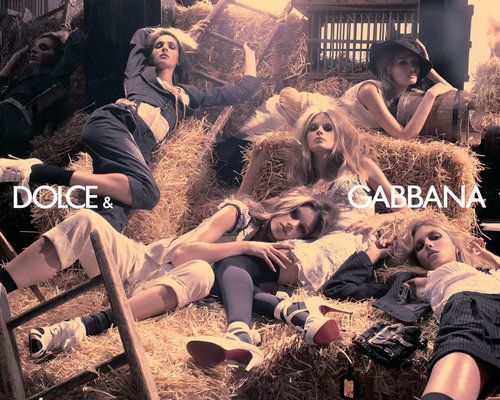 D & G  S/S 2007 Campaign Ad - dolce-and-gabbana Photo