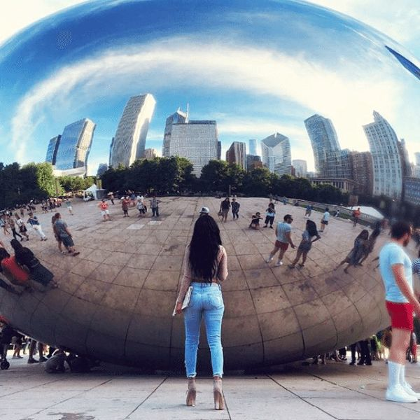 The Instagrammers Guide To Chicago, IL | Photo-Ops in Chicago | The Bean / Cloud Gate
