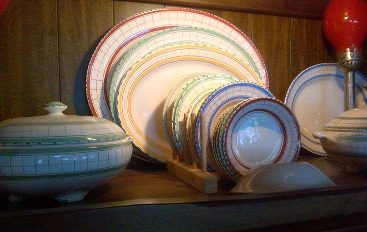 beautiful platters for big turkey dinners!