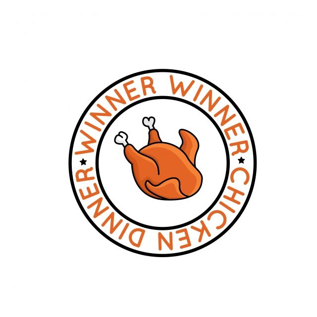 Winner Winner Chicken Dinner Badge For Pubg Chicken Dinner