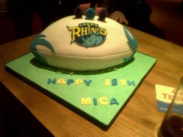 34 best images about Leeds Rhinos cakes on Pinterest ...