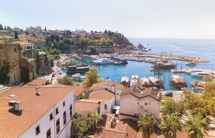 La vieille ville de Kaleiçi, au cœur d'Antalya, Turquie #momondo