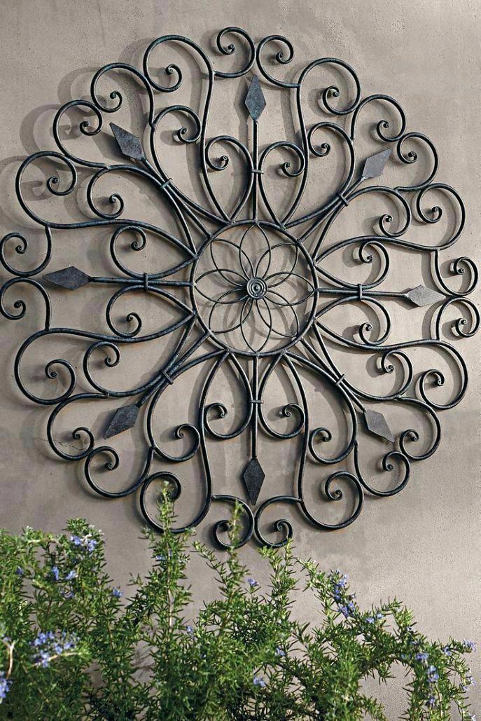 Exterior Wall Decor Clubbellasol Com Metaltreewallartdiy