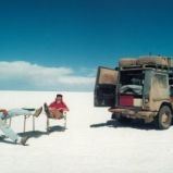 Gunther and Christine Holtorf started a 18th month road trip in 1989 that turned into a 23 year road trip around the world in their 1988 Mercedes Benz G-Wagen named Otto.      That looks like it would be amazing!  Although I'm not sure I could do it for 23 years....