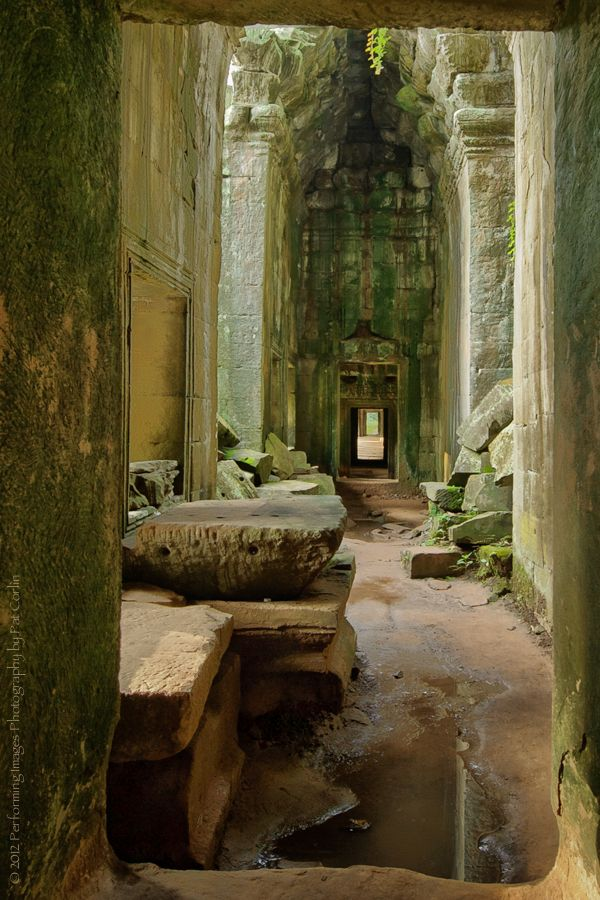 The Ancient Passage Ways of Ta Prohm (Angkor Wat Complex, Cambodia)