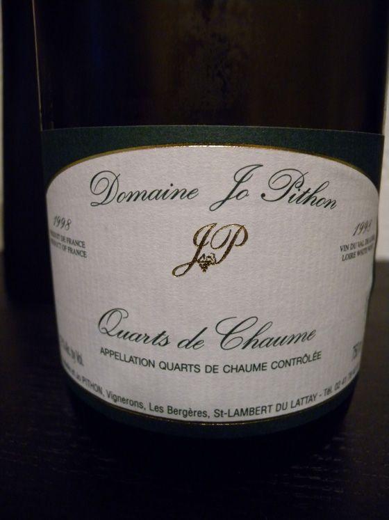 Quarts de Chaume 1997 Domaine Jo Pithon