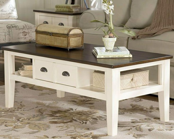 Whitesburg Coffee Table www ashleyfurniture com. 30 best images about Living Room Furniture on Pinterest