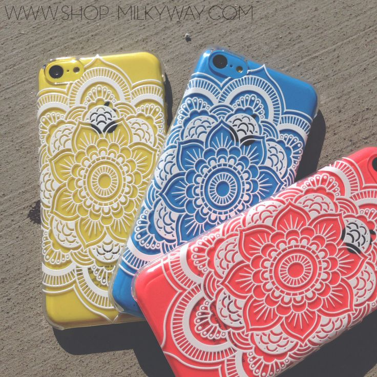 Henna Iphone Case