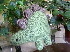 Ravelry: Knitted Stegosaurus pattern by Jacob Haller