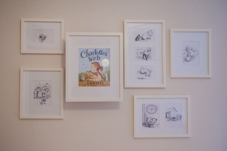 Project Nursery - Charlotte's Web Nursery Artwork