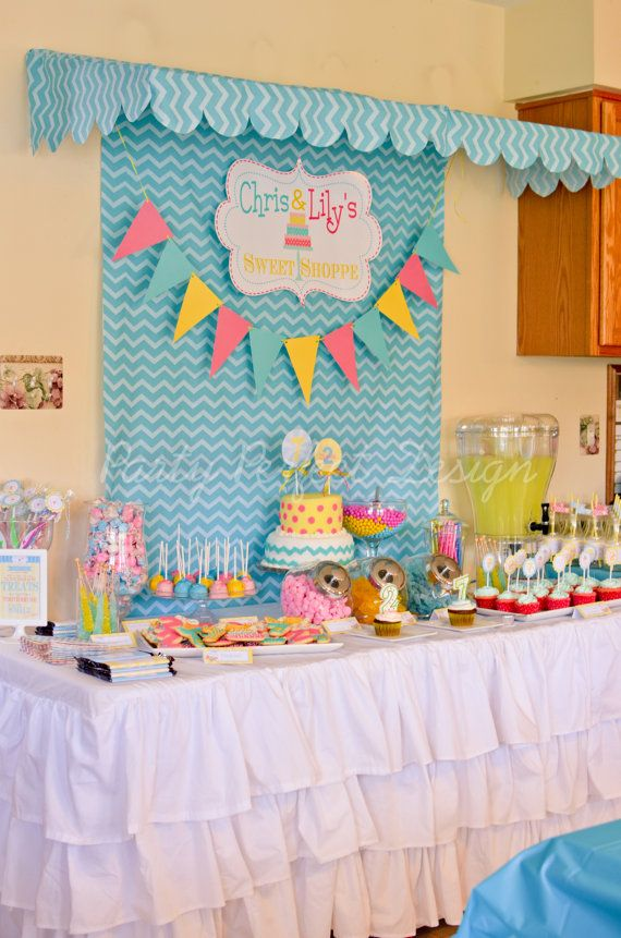 Sweet Shop Candy Shop Birthday Party Printables on etsy ...