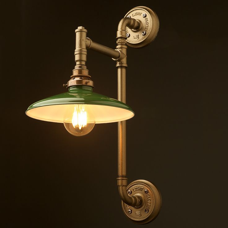Wall lighting for the bar 13 pinterest twin wall mount pipe light shade mozeypictures Image collections
