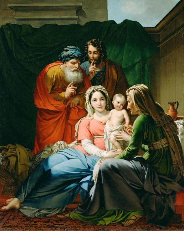 Палинк Жозеф - Святое Семейство - Мировая живопись, шедевры - 2 - Terra Incognita. Сайт Рэдрика