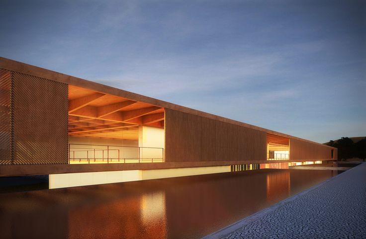 Menção Honrosa no Concurso para o Centro Cultural de Eventos e Exposições em Nova Friburgo / Mira arquitetos + João Rangel