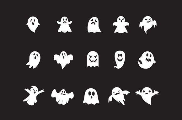 15 Ghost Icons Ghost Tattoo Halloween Icons Ghost Drawing
