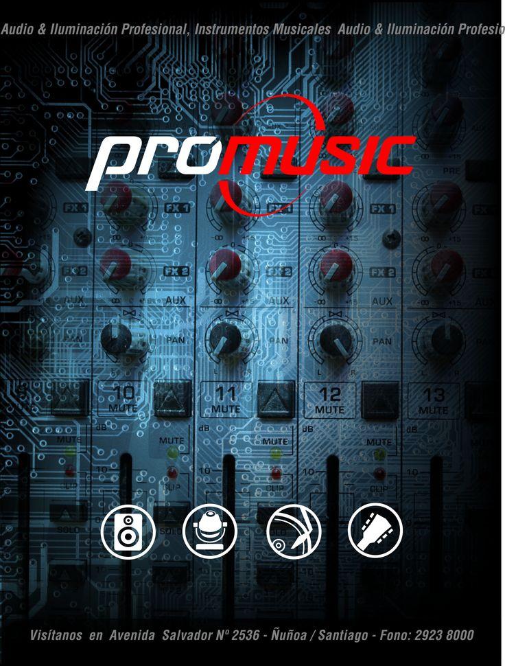 #mezcladores en #promusic