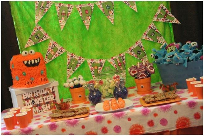 Monster Bash Birthday Party
