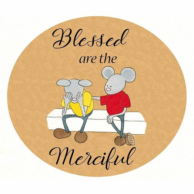"""Day 15-Jesus taught:""""""""Blessed are the merciful.""""--Matthew 5:7   #lighttheworld #normanthemormon #normanbookseries #lds #loveothers #love #mercy #matthew5:7 #beattitudes"""