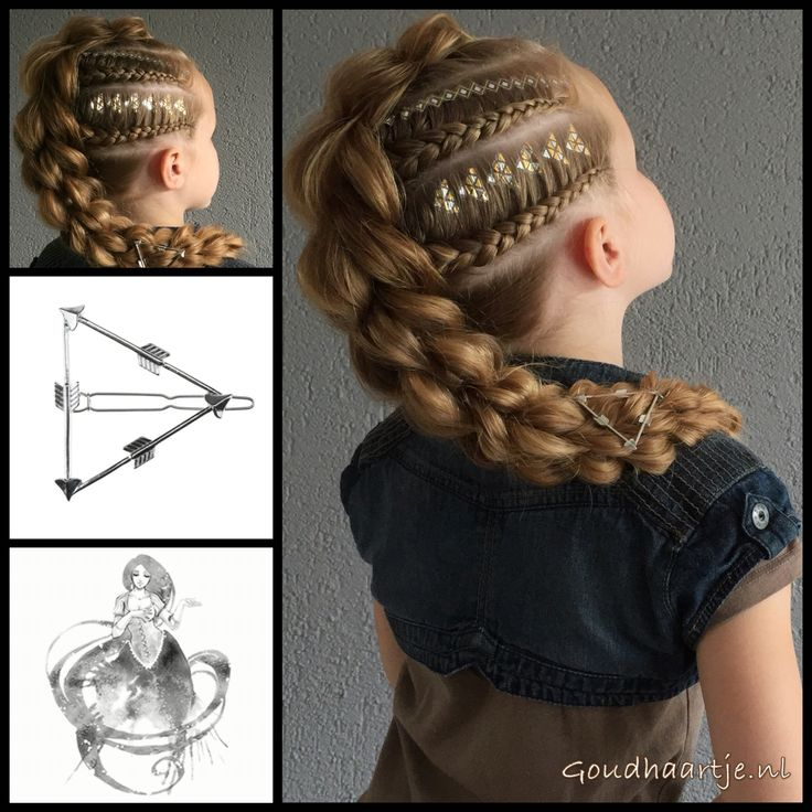 Maybe I'm crazy, but this hairstyle looks like it would be great as part of a Klingon costume...