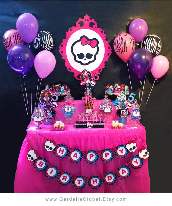 17 best ideas about Monster High Invitations – Monster High Birthday Invites