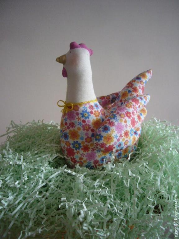 Купить Курочка пасхальная, декоративная. - разноцветный, Пасха, пасхальный сувенир, пасхальный подарок, пасхальный декор