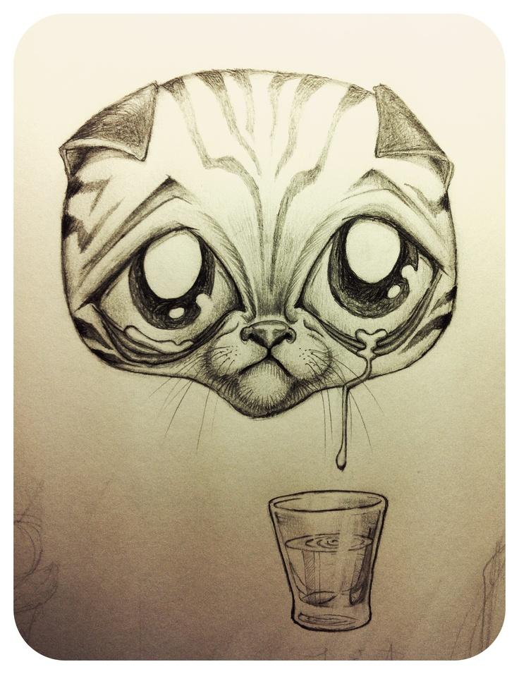 kittens tears