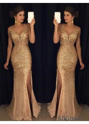 8cb5201e499b AllGown The Gold Long Prom Evening Dress T801524640105 | Dresses in ...