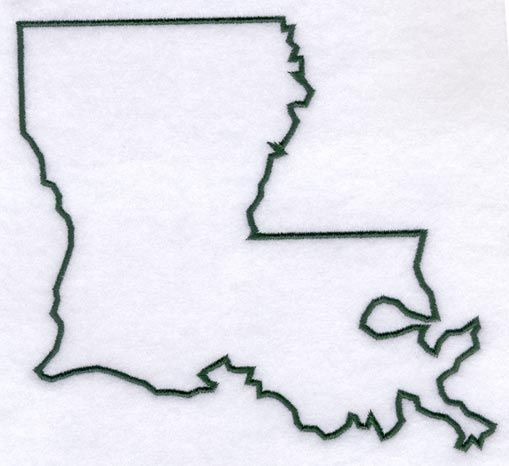 louisiana state outline tattoo - Google Search