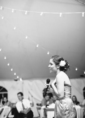 Tips for the MOH and the best man speeches... Must adhere to these rules!