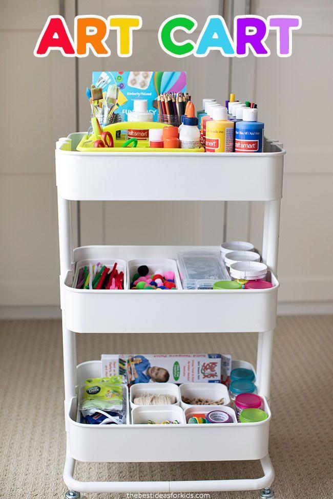 Kids Craft Storage In 2020