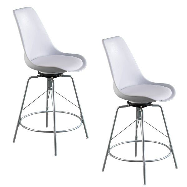 Glynis Bar Counter Swivel Stool In 2020 Pub Chairs Chairs Loft Stool