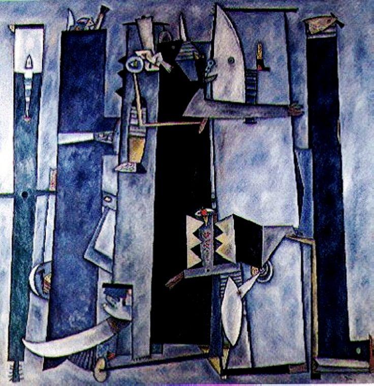Retablo del Mar (1991) Adolfo Nigro